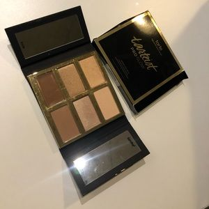 Tarte pro glow contour and highlight. Never used